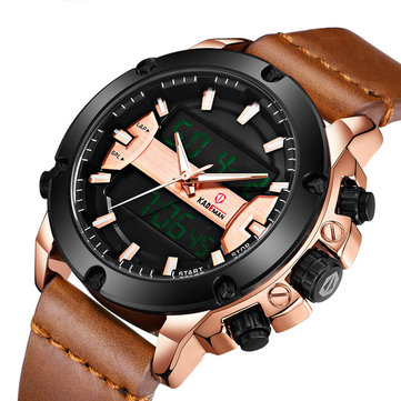How can I buy KADEMAN K806 Fashion Men Digital Watch Luminous Week Display Leather Strap Dual Display Watch with Bitcoin