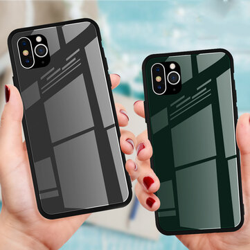 Bakeey Converted Change iPhone X/XS til iphone 11 Pro herdet glass Second Change Protective Case for iPhone X / iPhone XS