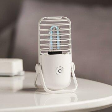 [New Release] 2020 Xiaomi Xiaoda Poratble USB UVC Germicidal Ozone Sterilization Table Lamp Ultraviolet UV Sterilizer Light Tube For Home Bathroom Bedroom from Xiaomi Youpin
