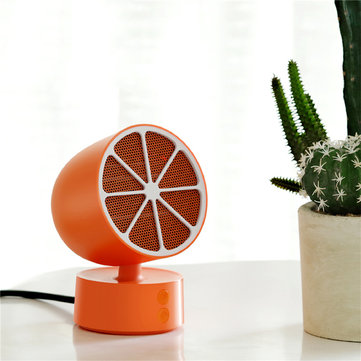 JISULIFE Desktop Shaking Electric Heater from Xiaomi Ecological Chain Lemon Shape for Office Home