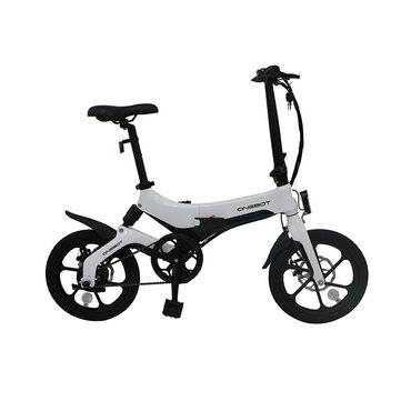 [EU Direct] ONEBOT S6 6.4Ah 36V 250W 16inch Folding Moped Bicycle 3 Modes 25km_h Top Speed 50km Mileage Range Electric Bike Max Load 120kg