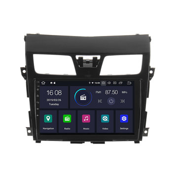 10.1 इंच 2 दीन कार रेडियो स्टीरियो MP5 प्लेयर एंड्रॉयड 6.0 ब्लूटूथ GPS नेविगेशन निसान अल्टिमा टीना 2013-2018 के ल