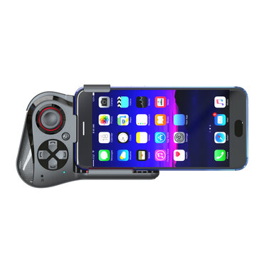Mocute 059 Ergonomic Wireless bluetooth Gamepad Controller Gamer Mobile Joystick Holder for PUBG Mobile Game for IPhone11 Note8 Samsung S10+