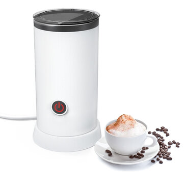 Digoo DG-HS005 Electric Milk Frother Machine Warmer 550W Automatic Milk Heating 240ml Stainless Steel Inner