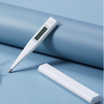 [New Arrivals] Xiaomi Mijia Smart Digital Bluetooth Electronic Thermometer LCD Display Blacklit NTC 30S Fast Temperature Measurement Thermometer Work With Mijia APP