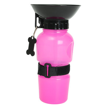 Buy Outdoor Portable Pet Travel Water Bowl Cup Bottle Auto Puppy Dog Drinking Mug with Litecoins with Free Shipping on Gipsybee.com