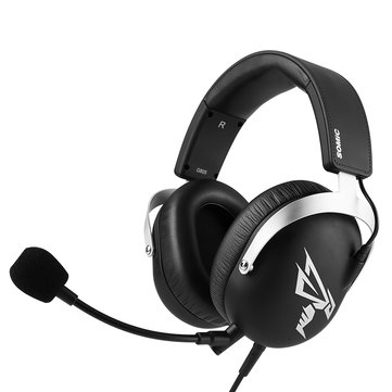 SOMiC G805 Virtual 7.1 Surround Sound 3.5mm USB Gaming Headphone Headset With Microphone for Phone Computer Profession Gamer