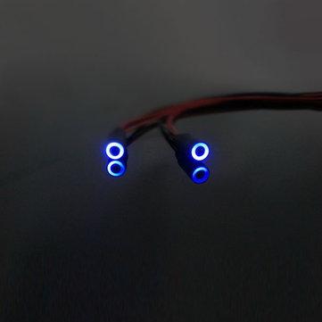 Angel Eye Leds For 1:10 RC Car Blue/White