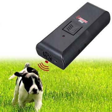 Ultrasonic Pet Dog Repeller Stop Barking Training Trainer