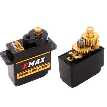 आरसी मॉडल के लिए EMAX ES08MA II 12 जी मिनी धातु गियर एनालॉग सर्वो