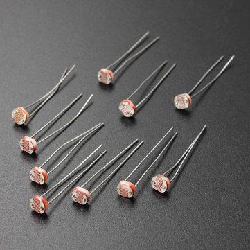20Pcs 5MM Light Dependent Resistor Photoresistor GL5528 LDR