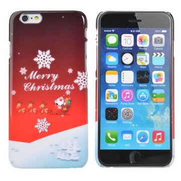 Julegave Sweet Christmas Pattern Back Case Cover For iPhone 6