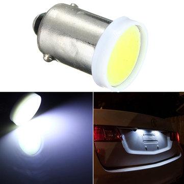 12V לבן סופר COB BA9S שבב 2W רכב LED Bulb טריילר רכב פנים אור