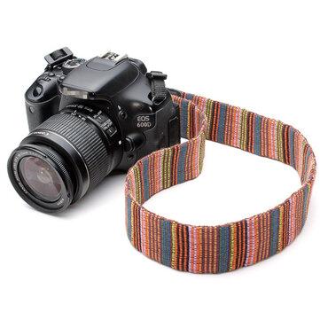 Dây đeo vai màu cổ cho máy ảnh DSLR Nikon Canon và máy ảnh khác