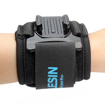 TELESIN 360 Degree Rotation Wrist Hand Strap Mount For Gopro Hero 2 3 3 Plus