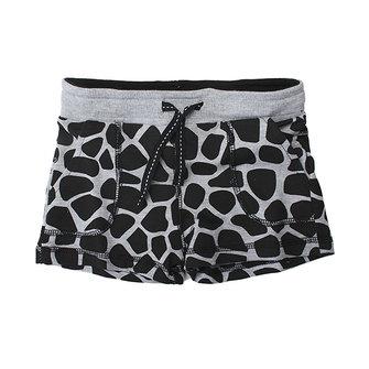 2015 New Little Maven Baby Girl Summer Dots Black Cotton Beach Shorts Pants