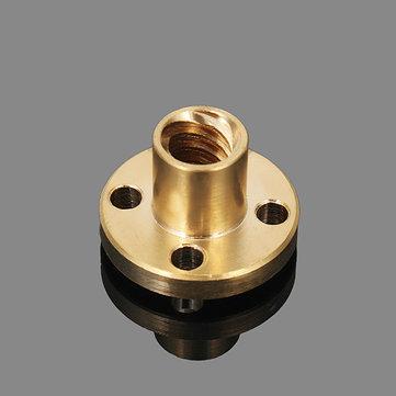 Machifit 8mm T Type Lead Screw Nut Brass Nut For CNC Parts