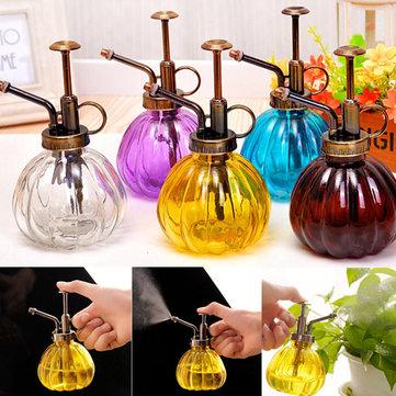 240 мл стеклянные бутылки спрей садовое растение ретро стороны давление лейка инструмент