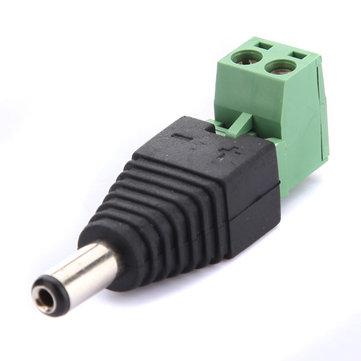2.1mm DC Plug Power Adapter Untuk kamera Keamanan CCTV